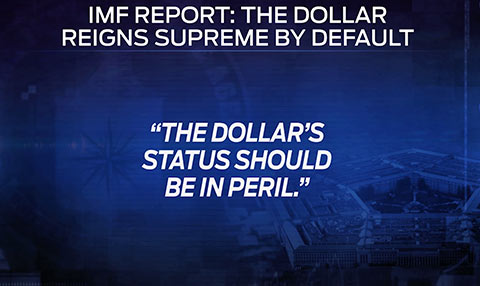 dollar status in peril
