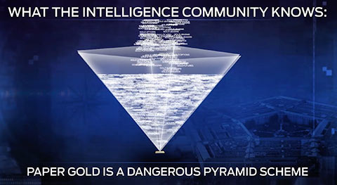 paper gold pyramid scheme