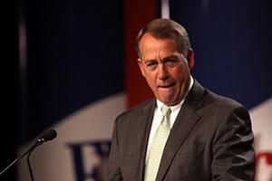 John Boehner Ted Cruz