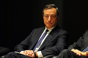 The ECB's Mario Draghi attended the Shanghai Accord.
