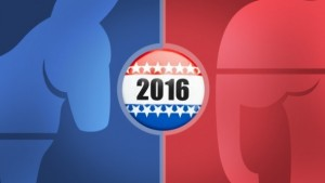 Election 2016 Blue Red