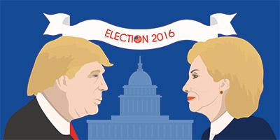 Trump – Clinton fundraising gap