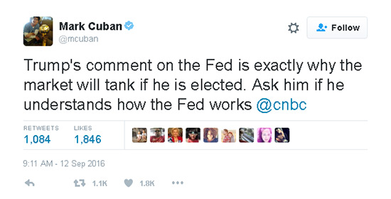 Mark Cuban Trump