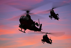 sunset-helicopters